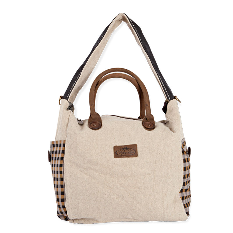 The Eureka Check shoulder bag