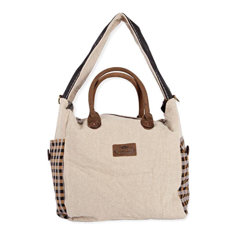 The Eureka Check shoulder bag